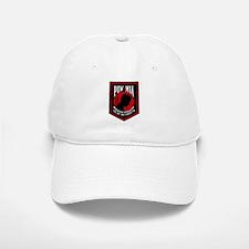 POW MIA (Red) Baseball Baseball Cap