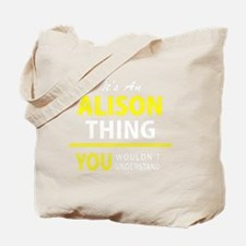 Cute Alison Tote Bag