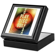 Play Disc Golf Keepsake Box