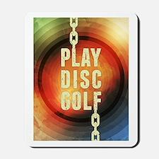 Play Disc Golf Mousepad