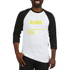Funny Alma Baseball Jersey