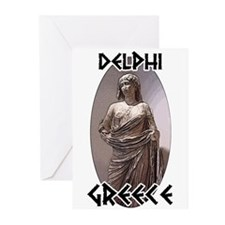 Delphi Statue Greeting Cards (Pk of 10)