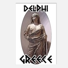 Delphi Statue Postcards (Package of 8)