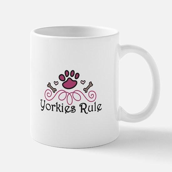 Yorkies Rule Mugs