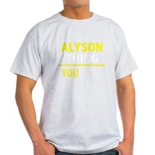 Funny Alyson T-Shirt