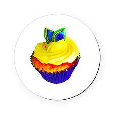 Cupcake Cork Coaster