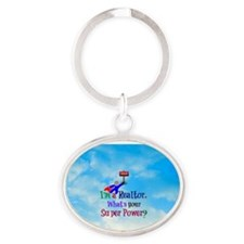 I'm a Realtor. What's Your Super Pow Oval Keychain