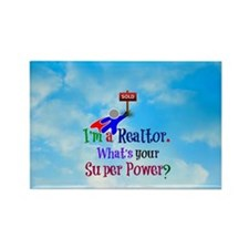 I'm a Realtor. What's Your Super  Rectangle Magnet