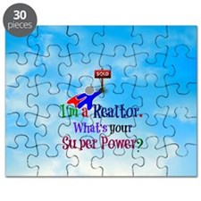 I'm a Realtor. What's Your Super Power? Puzzle
