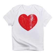 Distressed Heart Infant T-Shirt