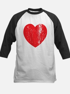 Distressed Heart Baseball Jersey