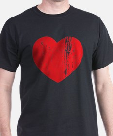 Distressed Heart T-Shirt