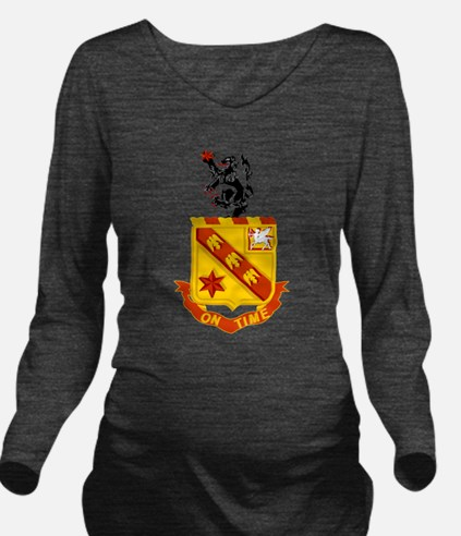 11th Field Artillery.png Long Sleeve Maternity T-S