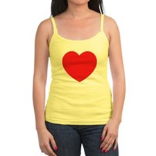 Distressed Heart Tank Top