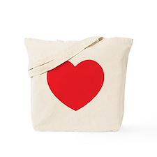 Distressed Heart Tote Bag