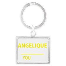 Cute Angelique Landscape Keychain
