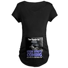 Look Whos Coming in April T-Shirt