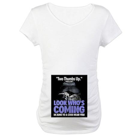 Look Whos Coming in June Maternity T-Shirt