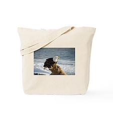 Bald Eagle Homer Alaska Tote Bag