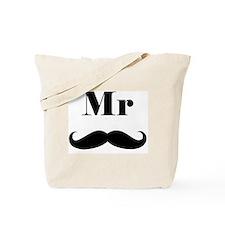 Mr. Mustache Tote Bag