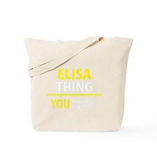 Funny Elisa Tote Bag
