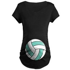 Funny Volleyball Belly T-Shirt
