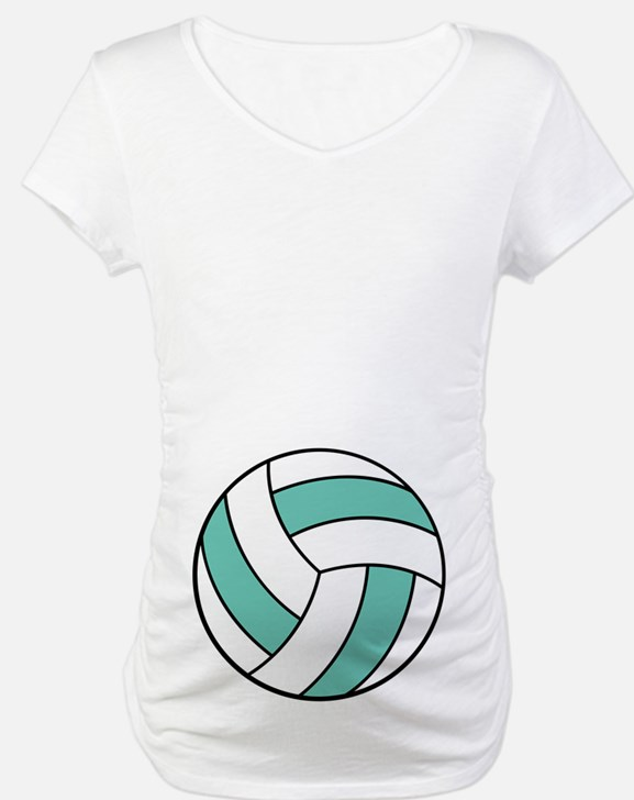 Funny Volleyball Belly Shirt