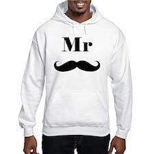 Mr. Mustache Hoodie Sweatshirt