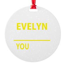 Evelyn Ornament