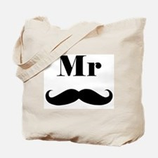 Mr. Mustache Tote Bag