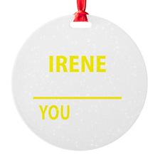 Cute Irene Ornament