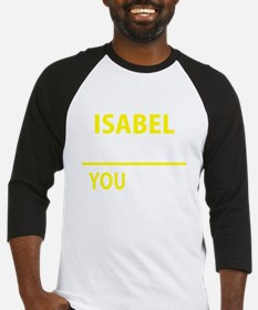 Unique Isabel Baseball Jersey
