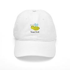 Personalizable Honey Bee Baseball Baseball Cap