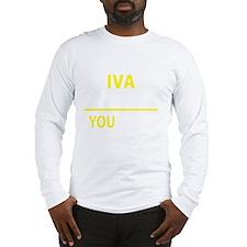 Cute Iva Long Sleeve T-Shirt