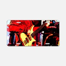 Bass Man Aluminum License Plate