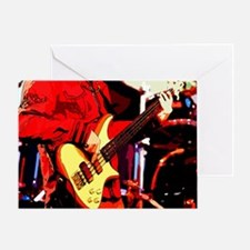 Bass Man Greeting Card