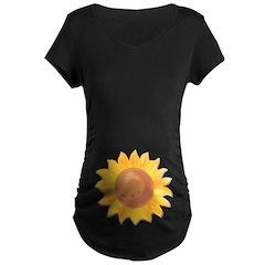 Sunflower Belly T-Shirt