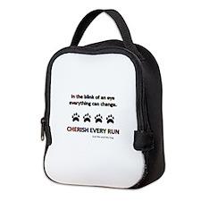 Cherish Every Run Neoprene Lunch Bag