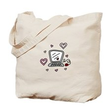 Computer Love Tote Bag