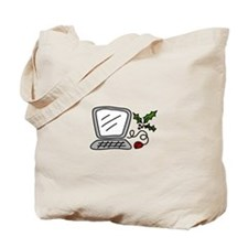 Christmas Computer Tote Bag