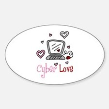 Cyber Love Decal