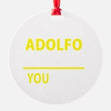 Unique Adolfo Ornament