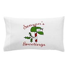 Seasons Greetings Pillow Case