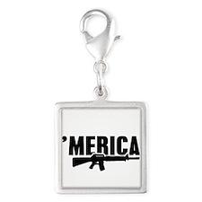 MERICA Rifle Gun Charms