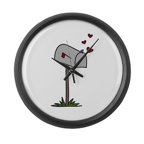 love letters large wall clock by concord16 With wall clock with letters