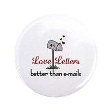 "Love Letters 3.5"" Button"