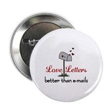 "Love Letters 2.25"" Button"