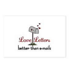 Love Letters Postcards (Package of 8)