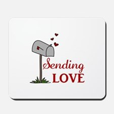 Sending Love Mousepad
