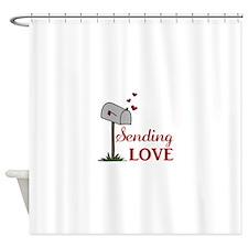 Sending Love Shower Curtain